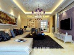 紫晶御府146平欧式风格装