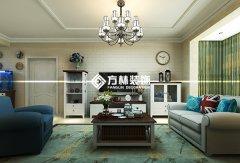 格林木棉花121平混搭三室装修效