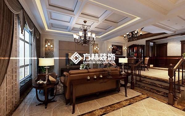 中海龙湾400平别墅-美式