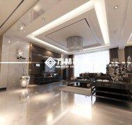 阳光尚城现代混搭150平带阁楼